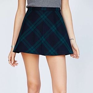 Urban Outfitters Silence + Noise Plaid Skirt
